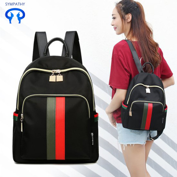 School fashionable travel bag small backpack