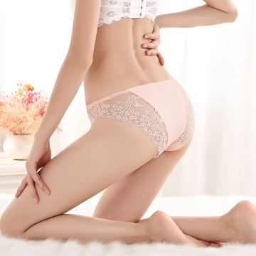 Sexy lovely lace traceless panties underwear women