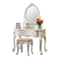 White Dressing Table with Mirror