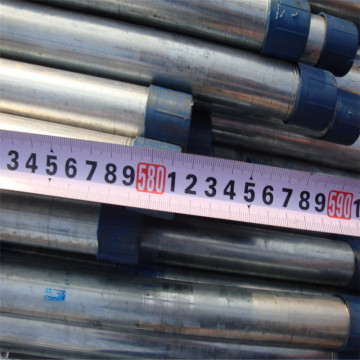 Round Section Shape schedule 40 galvanized steel pipe
