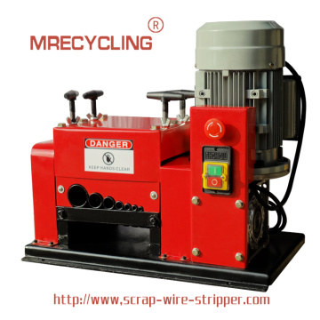 coppermine wire stripping machine