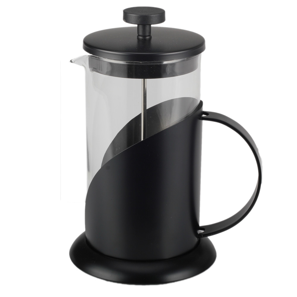 Painting Black Glass French Press Kettle