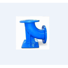 Ductile iron double flanged duckfoot bend 45°