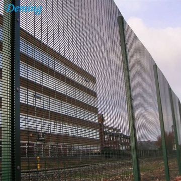 Welded Prison Anti Climb Metal Fence Panels