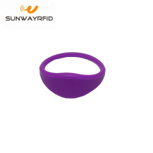 Low Cost for RFID Festival Wristbands 13.56MHZ RFID Wrist Strap NFC Silicone Slim Wristband export to Antarctica Manufacturers