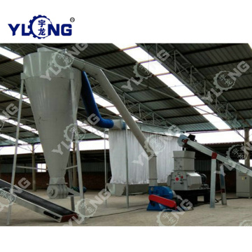 Wood Sawdust Hammer Mill Plant From Shandong Yulong