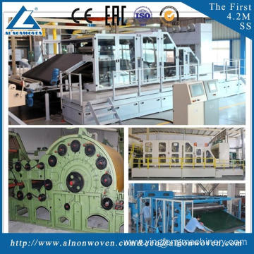 CE Certification ALSL-3000 carding machine for sale cotton wool carding machine