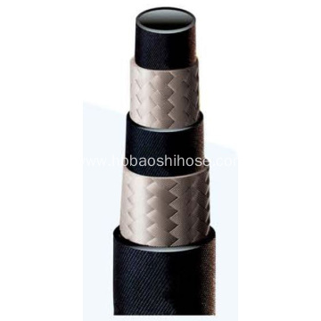 Two-layers Fiber Braided Rubber Hose