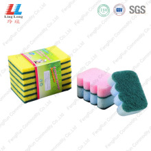 Europe style for for Sponge Scouring Pad,Sponge Kitchen Cleaning Pad,Green Sponge Scouring Pad Manufacturers and Suppliers in China best kitchen sponge cleaning dishes sponge export to United States Manufacturer