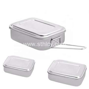 2 3 Compartment Leakproof Stainless Steel Food Container