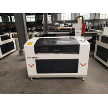 100w tube acrylic co2 laser cutting machine
