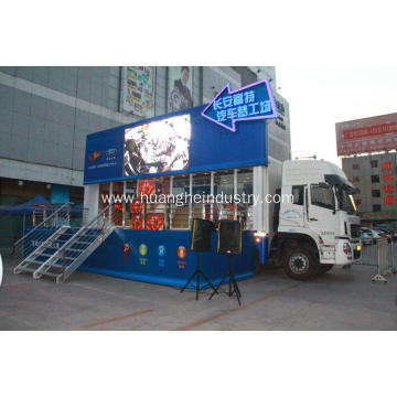 Video Function Advertising Mobile Stage Vehicle
