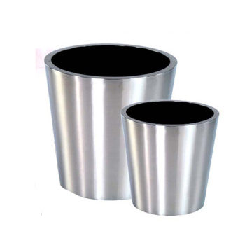 Big and Small Stainless Steel Plant Flowerpot