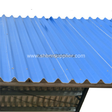 Low-carbon Harmless Heat-insulating MgO Roofing Sheets