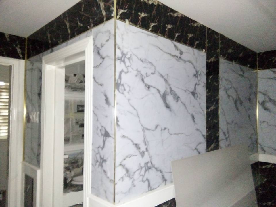 PVC Marble Wall Panel For Interior Wall Decoration
