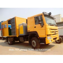 Customized for Special-Purpose Vehicle 4 x 2 266HP Mobile Workshop Truck export to Bolivia Factories
