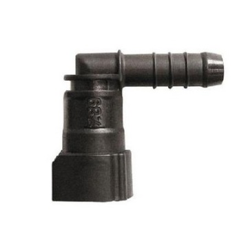 Fuel Quick Connector 7.89(5/16)-ID7.3-90° SAE 1-Button