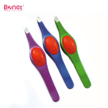 High Quality for Eyebrow Nail Scissors Tweezers Beauty Eyebrow Tweezer With Silicone export to India Manufacturers