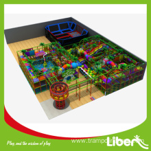 Indoor amusement playground systems center design