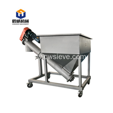 grain suction loading portable screw conveyor machine