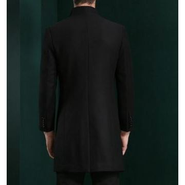 Men's 50% Wool 50% Cashmere Coat