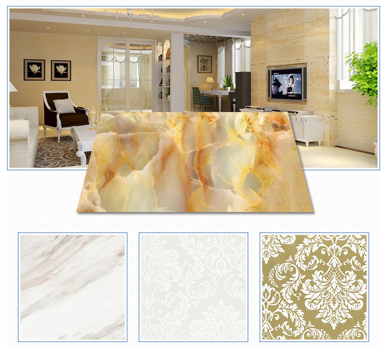 New decoration materials pvc marble wall covering sheet 2.5mm