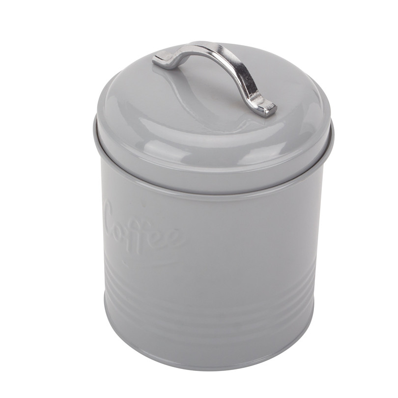 Metal Sugar Coffee Canister