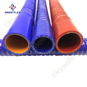 flexible silicon corrugated hose