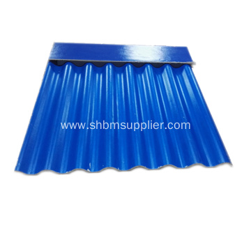 High strength Mgo insulated fireproof roofing sheet