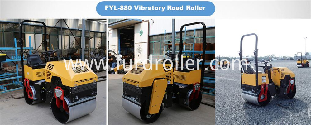 1 ton Double Drum Road Roller