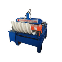 Galvanized Metal Trapezoid Sheet Arch Machine