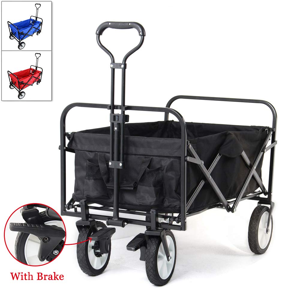 Adjustable Handle Hand Cart