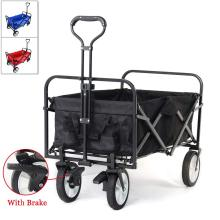 Adjustable handle Hand Cart Garden Transport Cart