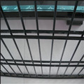 PVC coated welded 545 double wire fence