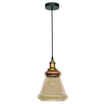 Nordic style hotel glass vintage pendant lamp