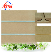 Customized for China Plain MDF,Plain MDF Board,Outdoor Plain MDF Walls Factory Raw or Melamine faced slotted MDF board supply to Sri Lanka Supplier