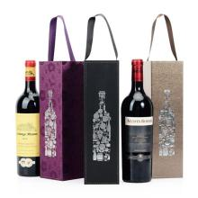 Custom Luxury Folding Magnetic Closure Wine Paper Box