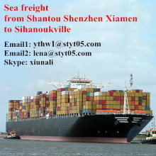 Sea Freight Services From Shantou To Sihanoukville