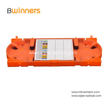 24 Splice Fiber Optic Fusion Splice Tray