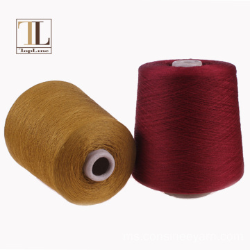 high end linen linen campuran nylon benang mengait