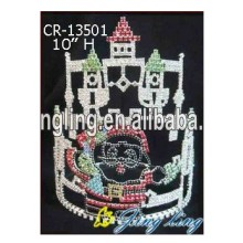 China for China Christmas Snowflake Round Crowns, Candy Pageant Crowns, Party Hats. New Design Pageant Crown Castle Shape supply to Jamaica Factory