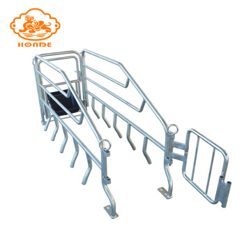 Durable hot dip galvanized pig cage