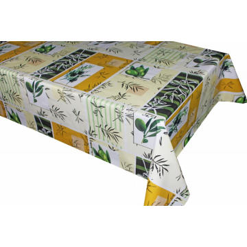 Pvc Printed Foot Black Dekorama table covers