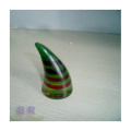The Horn Shape Colorful Glass Ornament For Home