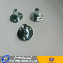 OEM/ODM for China Tee Nut For Rock Climbing,Rectangular Nuts For Wall Clamping,Cliff-Climbing Nuts Manufacturer Round base T- nuts supply to Belgium Manufacturer
