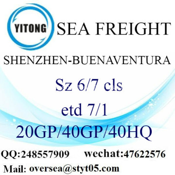Shenzhen Port Sea Freight Shipping To Benaventura