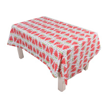 Tablecloth PE with Needle-punched Cotton Watermelon Design
