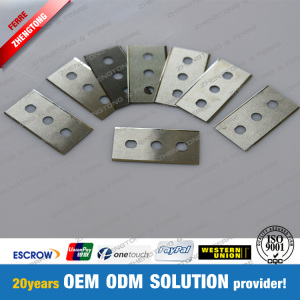 Factory Supplied Plastic Cutting Carbide 3-Hole Knife