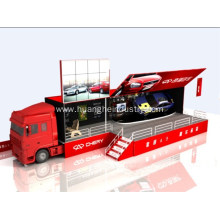 Cheapest Factory for Outdoor Road Show Truck 40ft Advertising LED Truck export to Egypt Suppliers