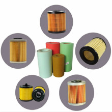 Filter paper in plain and corrugated